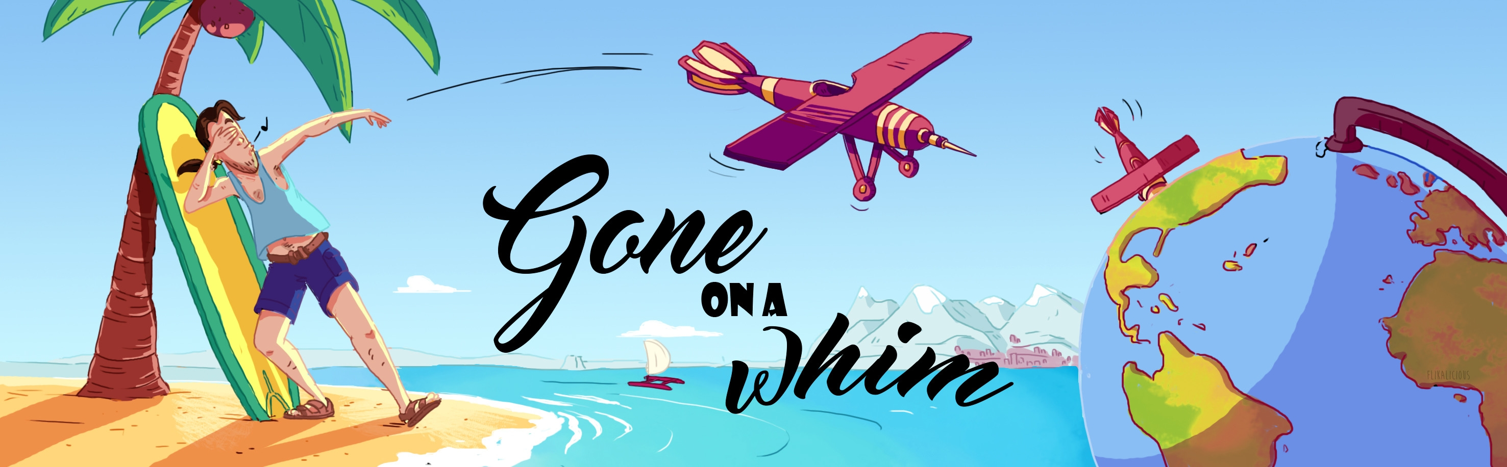 Gone On A Whim…